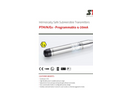 STS - Model PTM/N/Ex - Intrinsically Safe Submersible Transmitters - Programmable 4-20mA - Datasheet