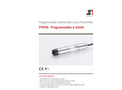STS - Model PTM/N - Programmable Level Transmitter - Datasheet