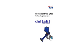 Systec - Model Deltafit - Air Flow Regulation System - Datasheet