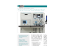 Model PMC18-001 - 100 kHz to 18 GHz Automatic Power Sensor Calibration System Brochure