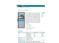 Model T-470A - Phase Sequence Indicator Brochure