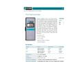 Model 869 - 100 Ohm Platinum RTD Thermometer Brochure