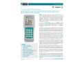 TEGAM - Model 931B / 932B - Industrial Data Thermometer - Datasheet