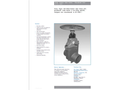 Resilient Seated Gate Valves - Shouldered Ends DN 100 and DN 150 - Brochure