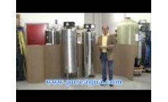 Pure Aqua| Multimedia Filters USA 31 GPM - Video
