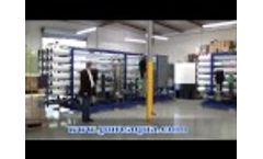 Industrial Brackish RO Plant Saudi Arabia 528,000 GPD Video