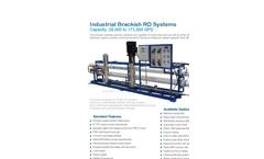 Pure-Aqua - Model RO-400 - Industrial Reverse Osmosis RO Systems Brochure