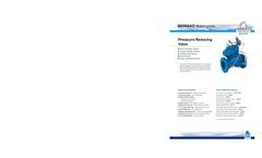 Model IR-120-2W - Manual On/Off Pressure Reducing Valve Brochure