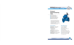 Model IR-123-54-X - Hydraulically Operated Diaphragm Actuated Remote Control Valve Brochure