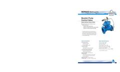 Model FP 400E-3DC - Electric Pressure Control On OFF Deluge Valve- Brochure