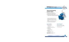 Model 730 - Pressure Sustaining / Relief Control Valve- Brochure