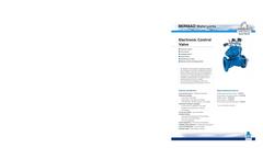 Model FP 400E-2MC - Electric Pressure Control Deluge Valve Brochure