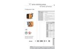 K Series Metering Pumps Datasheet