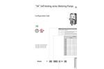 VA Self Venting Series Metering Pumps Datasheet