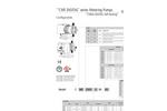 Model AMS MF - Solenoid Driven Metering Dosing Pumps Brochure