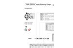 GMS Digital Series Metering Pumps Datasheet