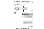 G Polymers Metering Pumps Datasheet