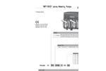 WPHRHD Series Metering Pumps Datasheet