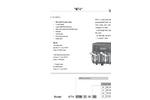 WT4 Dual Pump Datasheet