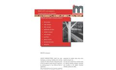 Masur - Chain Conveyor - Brochure