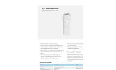 Halton - Model ZCI Zen Circle - Displacement Ventilation Unit - Datasheet