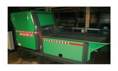 Model STA - Machines - Stationary Chippers and Biomass Processors