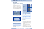 JVK - Membrane Chamber Plates for the Sugar Industry - Brochure