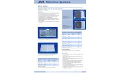 JVK - Membrane Chamber Plates for the Sugar Industry - Brochure