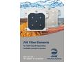 JVK Filter Elements for Solid Liquid Elements Separation - Brochure