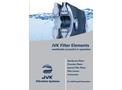 JVK - Filter Elements for Solid-Liquid-Separation - Brochure