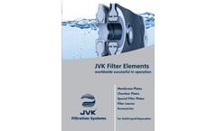 JVK - Model TYP JVK LFP 150 - Laboratory Filter Press - Brochure