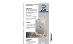 JVK - Temperature Controlled Chamber Plate Brochure