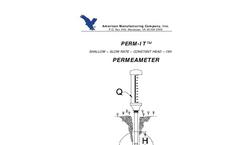 Constant Head Permeameter Brochure
