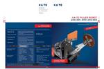 KA-TE Filler Robot Brochure