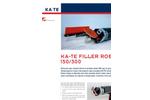 KA-TE - DN 150/300 - Mini Filler Robot - Brochure