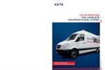 KA-TE Sprinter - The Complete Multifunctional System - Brochure