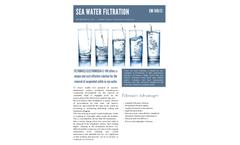 SEA WATER FILTRATION
