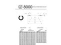 Asteknik - Model Type 8000 - Elastomer Gasket - Brochure