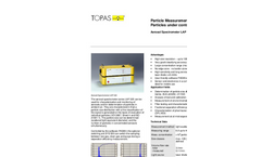 Particle Measurement Devices from Topas