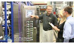 Burt Process RODI High Purity Water Systems - Video
