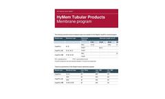 Low Solids UF Membranes Brochure