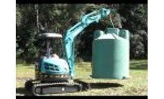 Sewerage System Installation Video