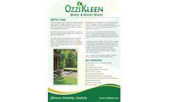 Ozzi-Kleen - Model ST10 – ST10A - Septic Tank Brochure