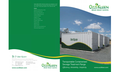 Ozzi Kleen - Containerised Transportable Treatment Systems Brochure