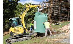 Ozzi Kleen - Model RP10 - Household Sewage Treatment System