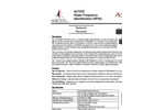 ACTIVE Radio Frequency Identifi cation (RFID) Network Receiver Brochure
