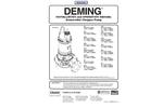 Deming - Demersible Solids Handling Non-Clog Pump - Manual