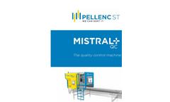 Pellenc Mistral+ - Model QC - Material Sorting Machine Brochure