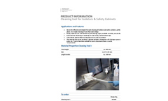 Berner - Safety Cabinet Cleaning Tool Brochure