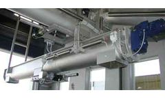 Model KD 02 - Shaftless Screw Conveyor